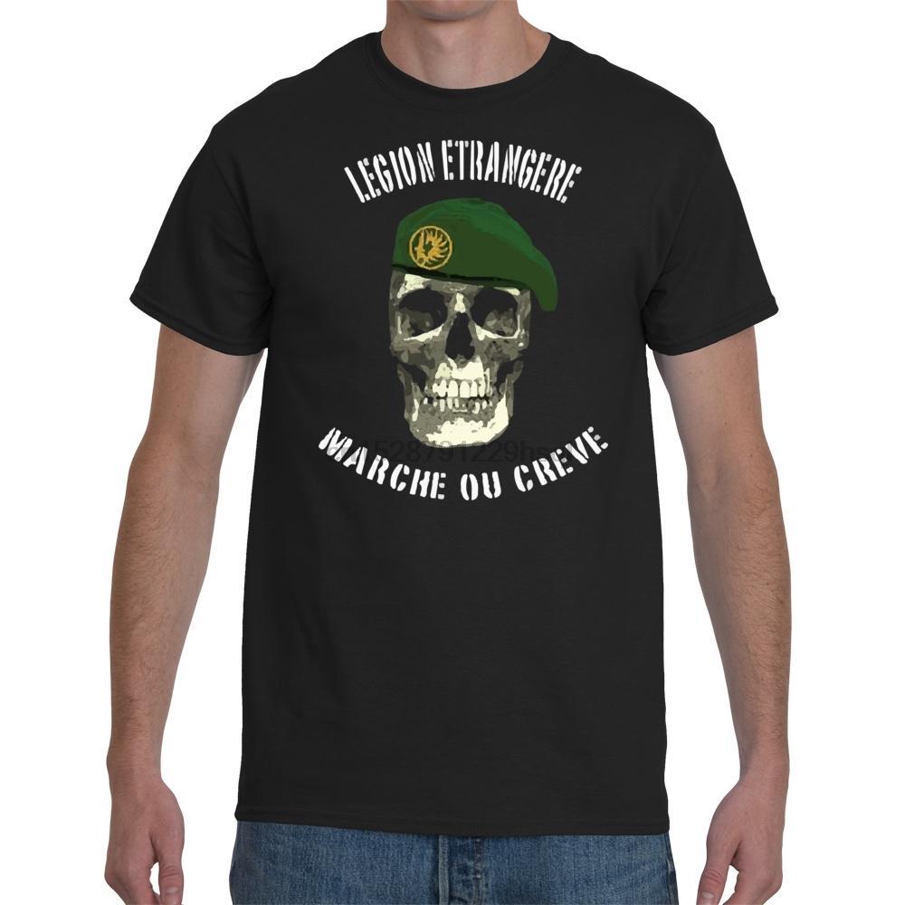 Moda legión extranjera camiseta camiseta unisex