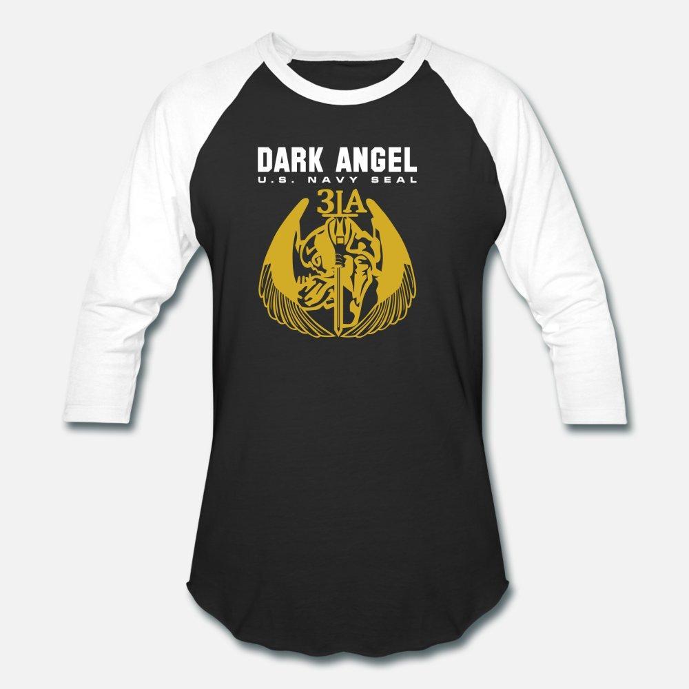 Fuerza Especial Navy Seal Army Dark Angel equipo hombres de la camiseta de algodón Personalizar O-Cuello Traje Regalo divertido ocasional del verano de la camisa Natural