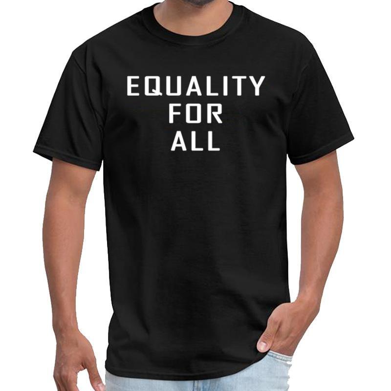 Printed Gleichheit für alle Wolf Shirt Männer remeras T-Shirt s-6xl hiphop