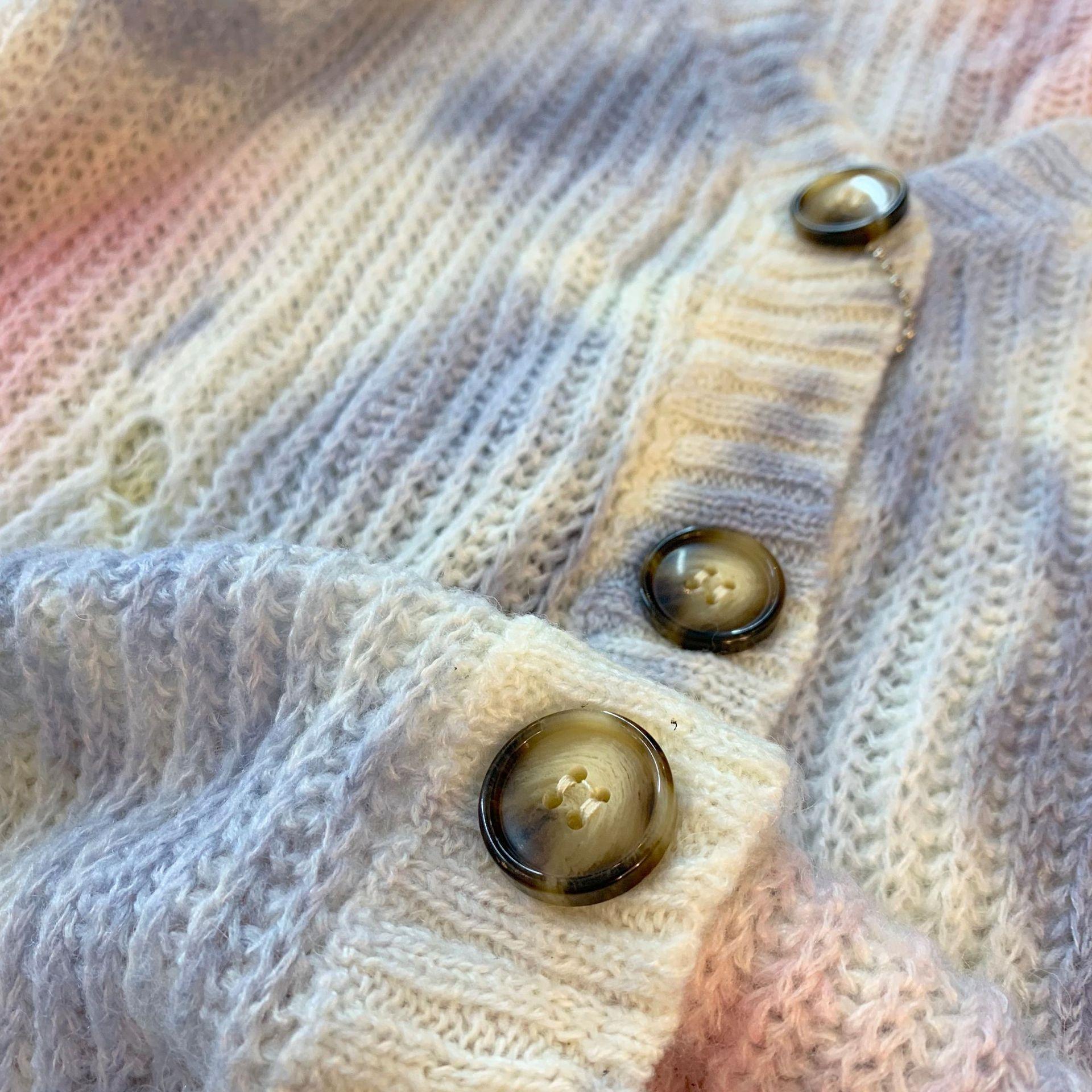U4iCb GiEIc 521 all'inizio del cardigan nuovo colore carino macaron maglia cardigan nuovo inizio autunno 521 carino macaron autunno colore lavorato a maglia il cappotto sw