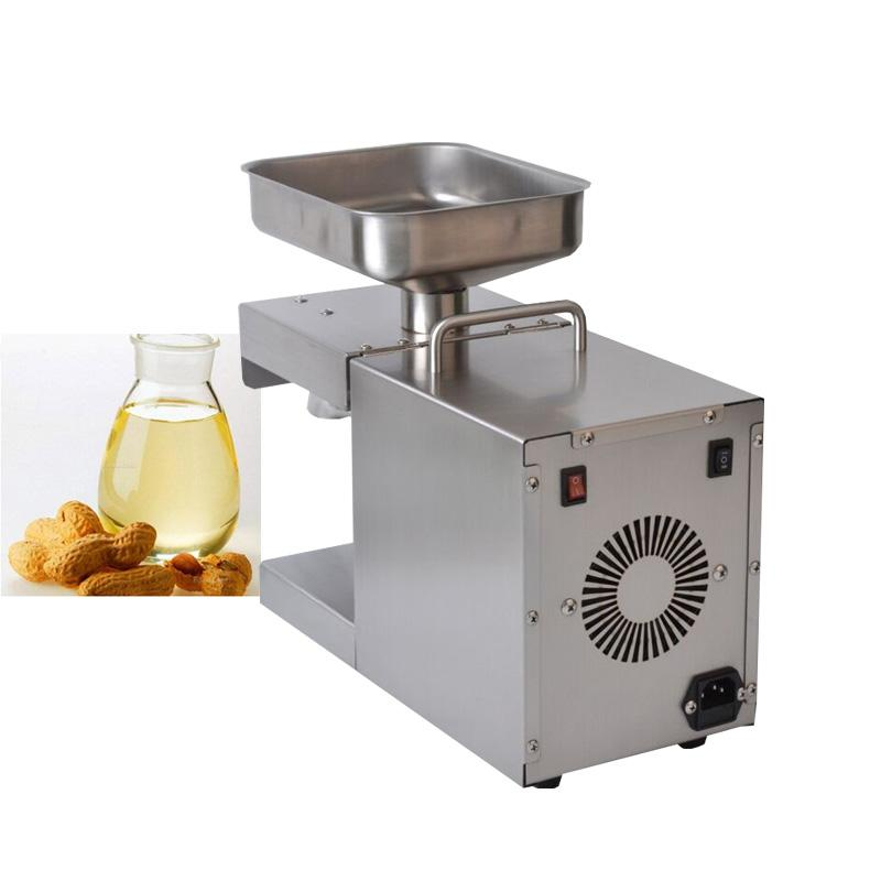 IRISLEE,Stainless steel automatic oil machine, small commercial oil press, Hemp coconut oil extractor machine,M9