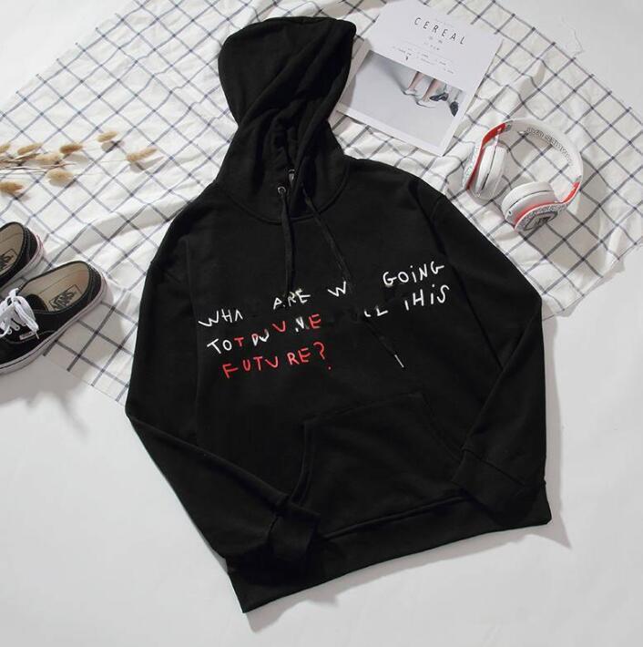 20SS Mens Дизайн Hoodie Hip Hop Мужские Streetwear Письмо Hoodie Мужские толстовки Женщины скейтборды Толстовка Пуловер Толстовка Одежда M-2XL
