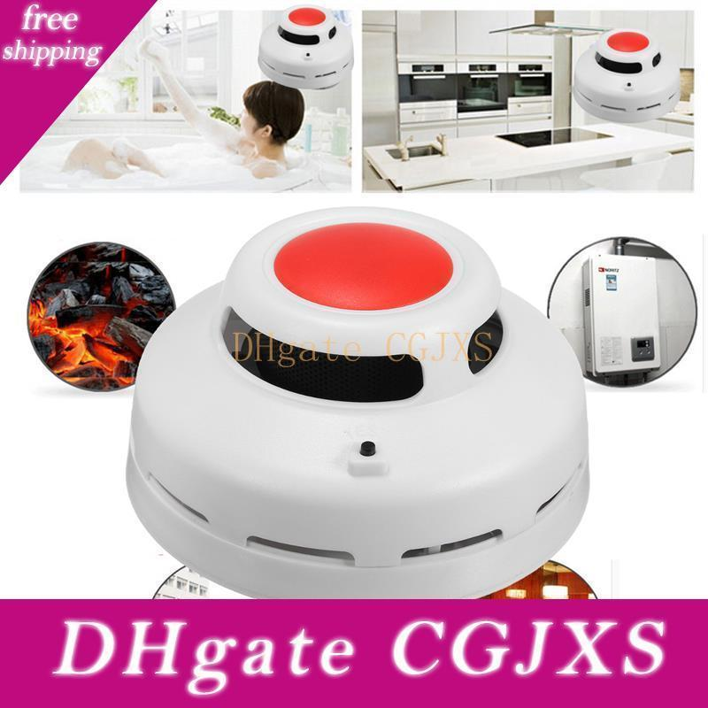 Stable Standalone Combination Carbon Monoxide And Smoke Alarm Tester High Sensitive Co &Smoke Detector For Home Security