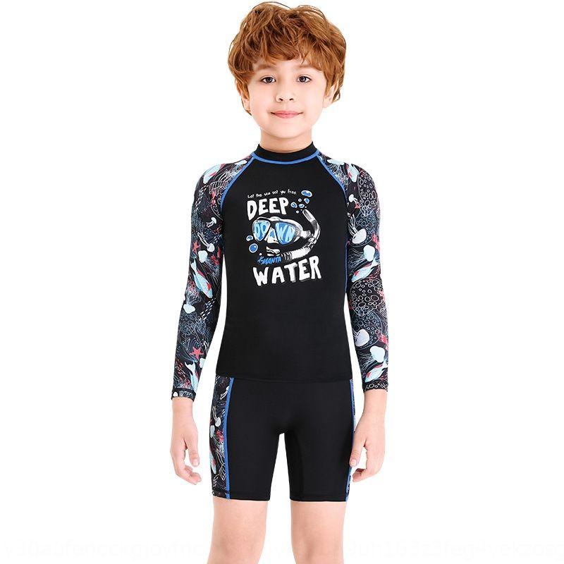 OM0Lo DIVE SAIL nova das crianças divididas das mulheres protetor solar terno dos homens nadar e bebê infantil de maiô maiô