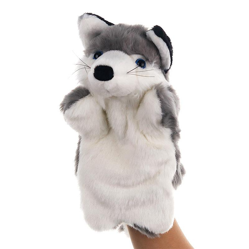 Kid toys Animal dolls Baby comfort toy Animal hand puppets Story puppet props hot selling gift of the child