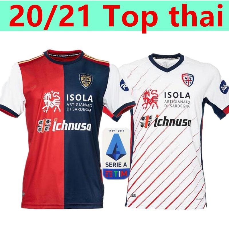 20 21 Cagliari Calcio трикотажные изделия футбола Столетний Kit JOAO ПЕДРО ограниченное издание Nainggolan 2020 2021 Малия да годовщина футбол рубашку