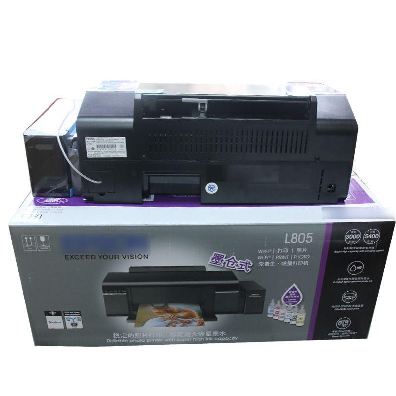 Наборы для заправки чернил L805 110V 220V струйный принтер PO CISS 6 цвета