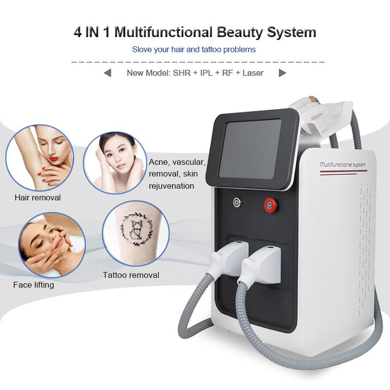 Высочайшее качество IPL лазерная рф подъемная машина для кожи угрейная обработка морщин удалить машины удаления татуировки лазера с заводскими ценами