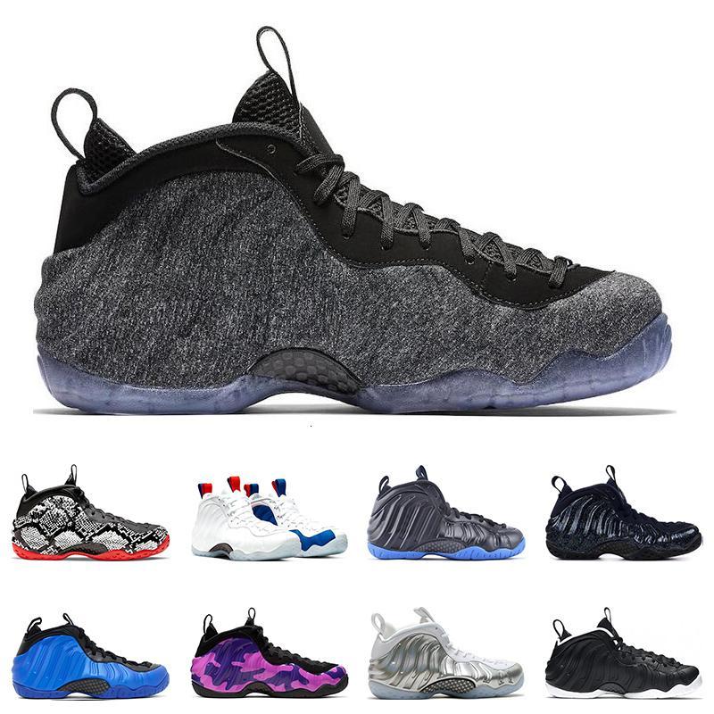 2020 Shoes Penny Hardaway basquete masculino Knicks EUA OBSIDIAN GLITTER Camo roxo HYPER COBALT DR.DOO NakeskinJordâniaRetros Tamanho