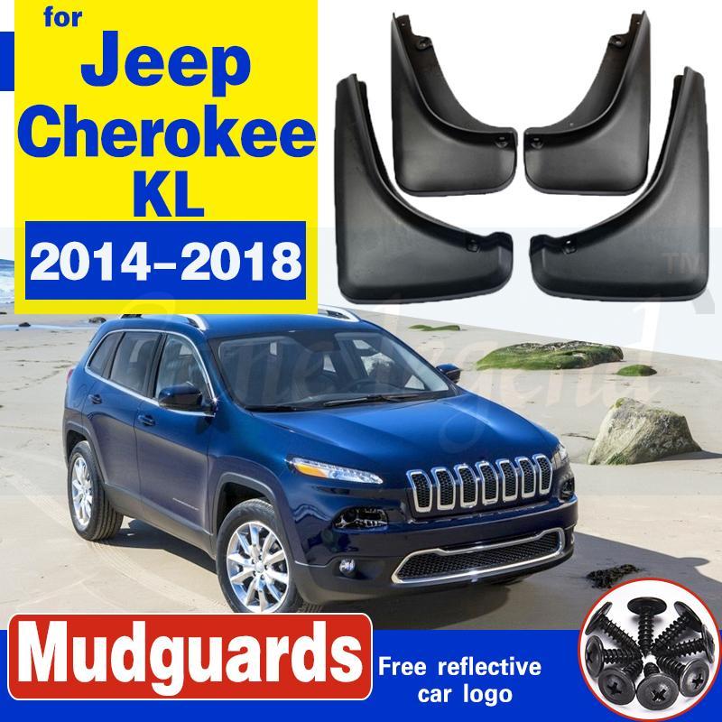 Auto-Schmutzfänger für Jeep Cherokee KL 2014 ~ 2018 Fender Mud Schutzklappe Splash Klappen Kotflügel Auto Vorderrad Hinterrad Zubehör