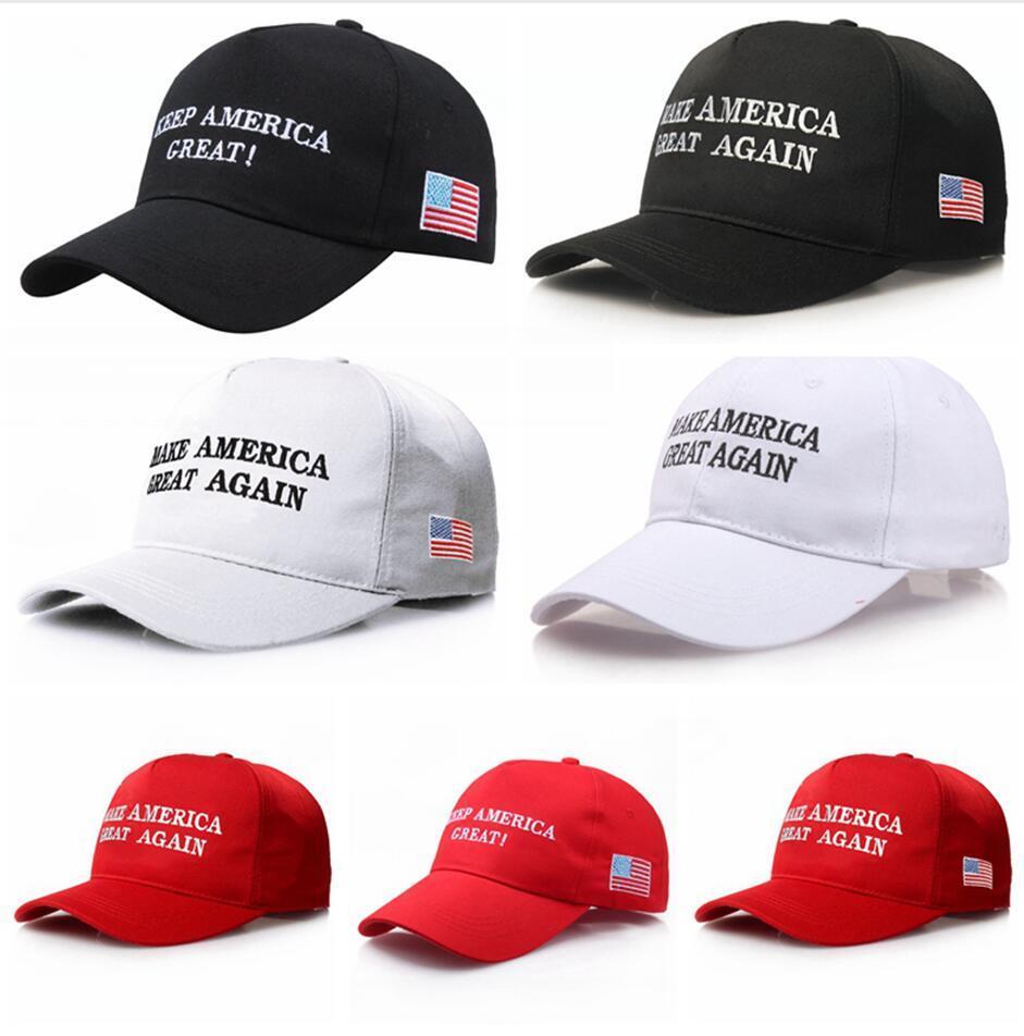 اللوازم ترامب قبعة التطريز جعل أميركا العظمى مرة أخرى هات MAGA العلم USA انتخابات الصورة Soild اللون الرياضة في الهواء الطلق أحد القبعات LJJP398