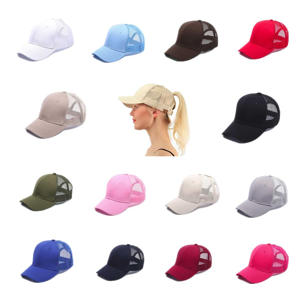 2020 Quick Dry Cross хвостик Бейсболка Открытый спорт Гольф Hat Headwear Зонт Mesh Дышащие Женщины Мужские шапки ВС Cap с логотипом