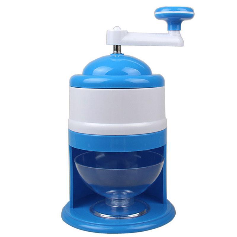 Portable Manuel Ice Crusher de qualité alimentaire ABS glace ménages rasées main déchiqueteuse Snow Cone Maker Machines de cuisine Machine à glace VT1543