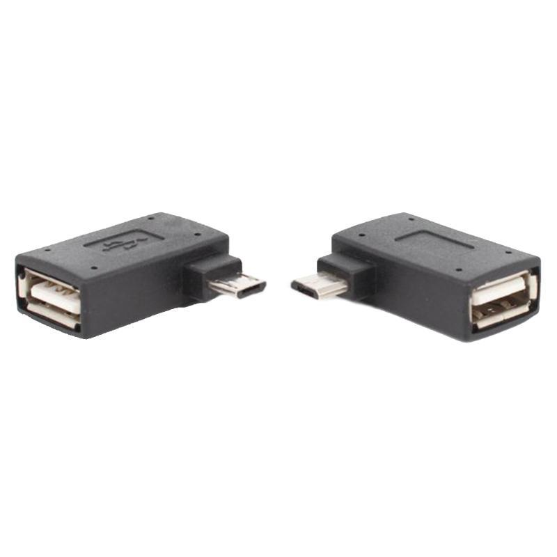 2pcs 90 Android телефона степень п U диск Мышь Клавиатура OTG кабель USB-адаптер для Женского Mini USB Мужского конвертер