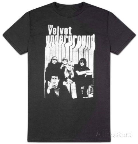 The Velvet Underground T-Shirt Männer Comics Homme Street T USA-Größe S-5xl Stück-Comics-T-Shirt Mann Comics T-Shirt O Ansatz