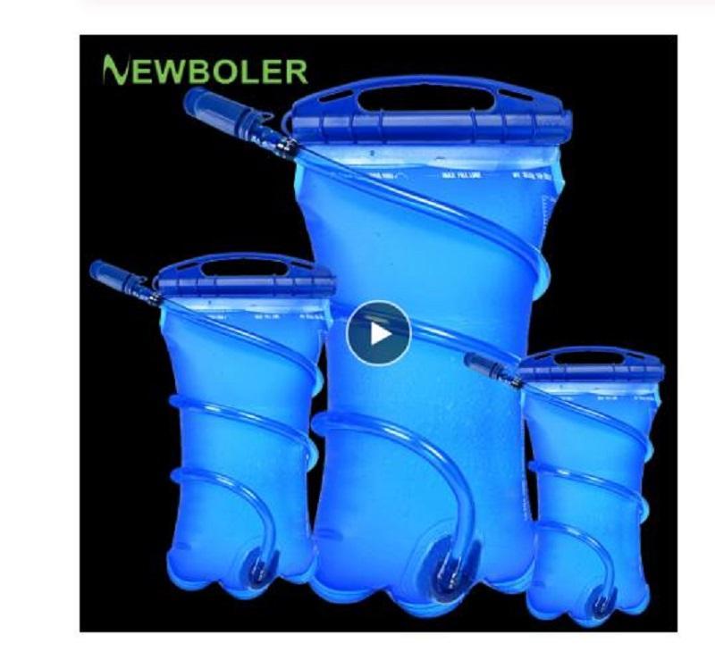 Water Reservoir Water Bladder Hydration Pack Storage Bag 2L Running Backpac PP
