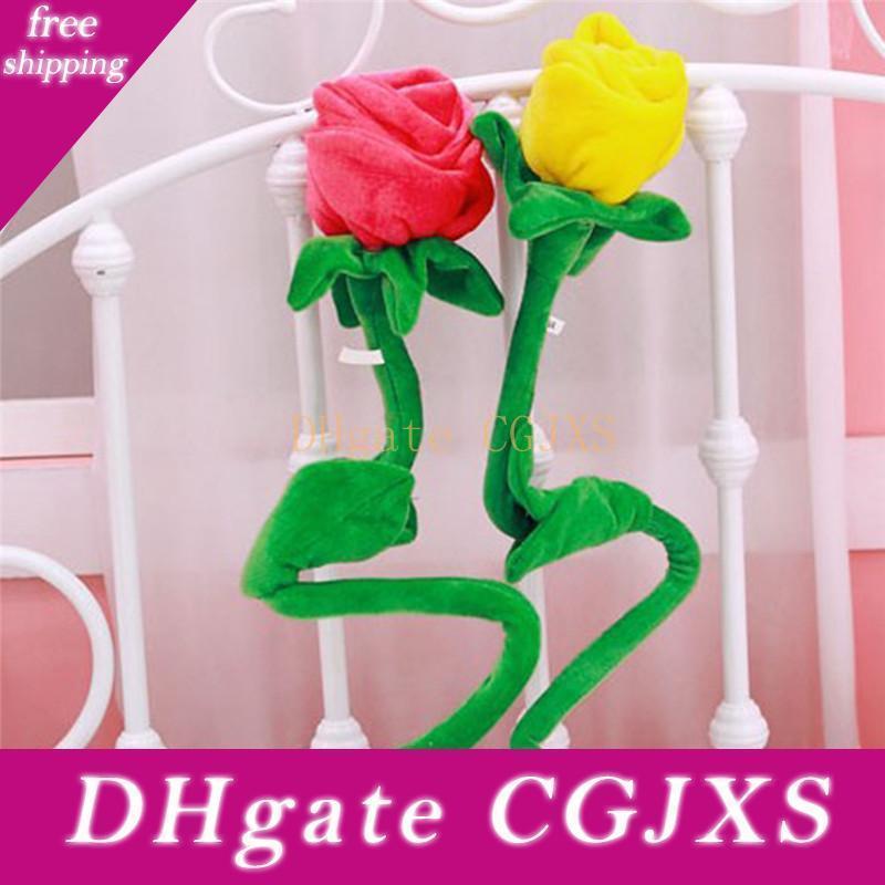 Плюшевые мультфильм моделирование Цветок розы Плюшевые игрушки для детей Для дома украшения завод Плюшевые игрушки Новые