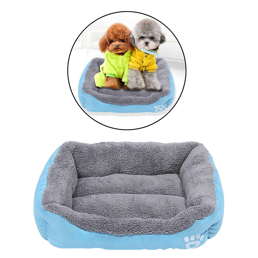 Warm Plush Lining Pet Bed For Cats or Dogs