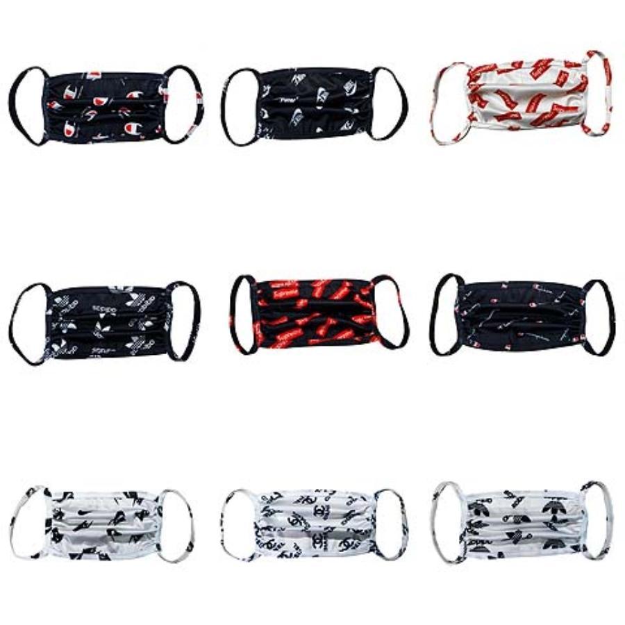 11 Design-Einweg-Designer-Gesichtsmasken mit elastischem Ear Loop 3 Ply atmungsaktiv für die Blockierung Staub-Luft-Anti-Staubschutzmaske # 808