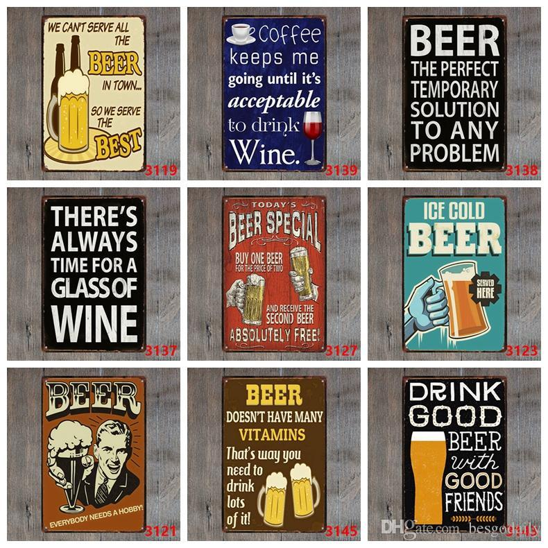 Vintage Tin Signs Warning Coffee Bar Metal Sign Restaurant Shop Home Wall Decorative Motorcycle Hanging Metal Plaque 30*20cm DH2590 DBC