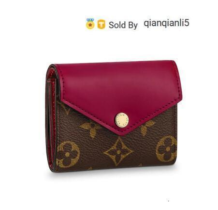 qianqianli5 I8MQ WALLET M62932 NEW WOMEN FASHION SHOWS EXOTIC LEATHER BAGS ICONIC BAGS CLUTCHES EVENING CHAIN WALLETS PURSE