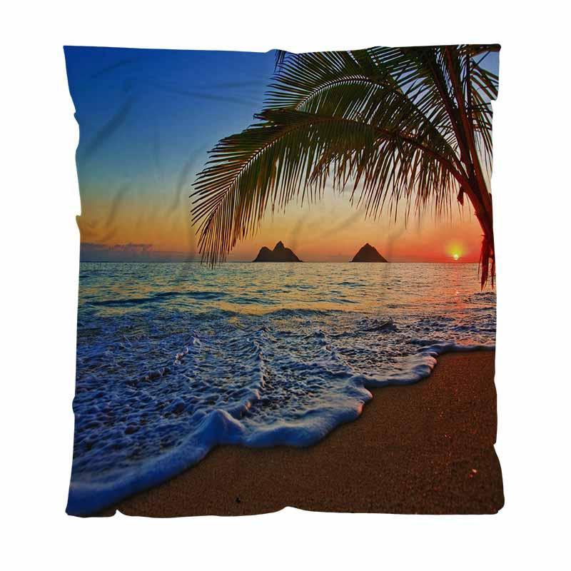 Spiaggia migliore Quailty Blanket coperta del tiro del Pacifico Alba di inverno caldo della coperta del tiro per il letto morbido divano Solid Coperte Copriletto peluche