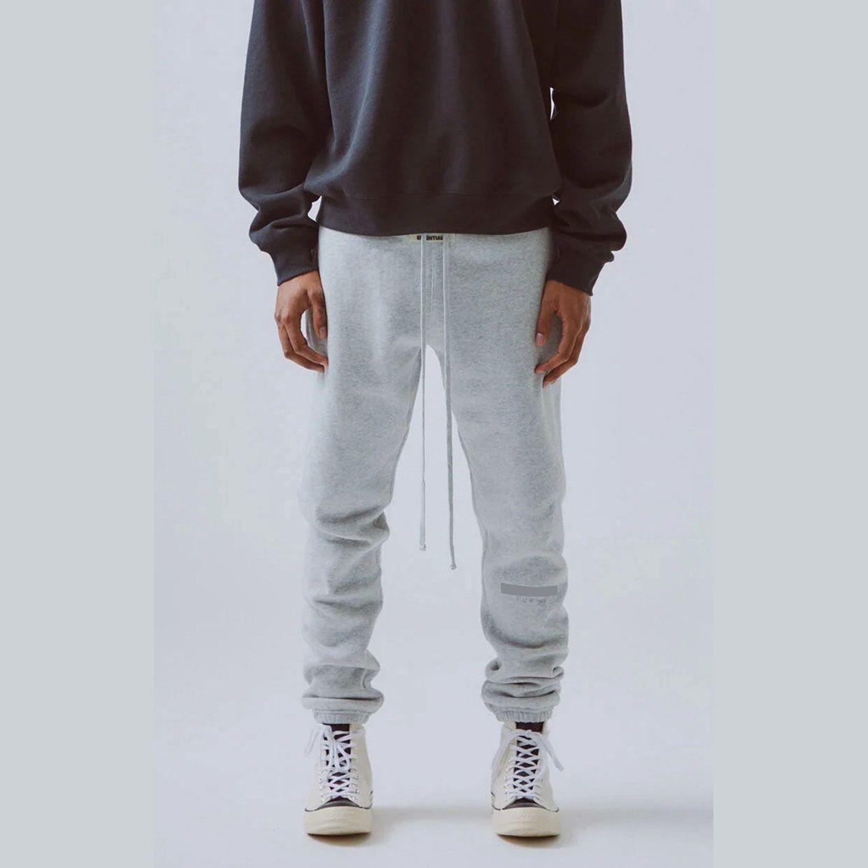Exxxxtial мужские Sweatpant Модные Hiphop Бегуны с Letter Pattern Мальчики Нью-2020 Осень Брюки Повседневный Drawstring выбивая Tackpants