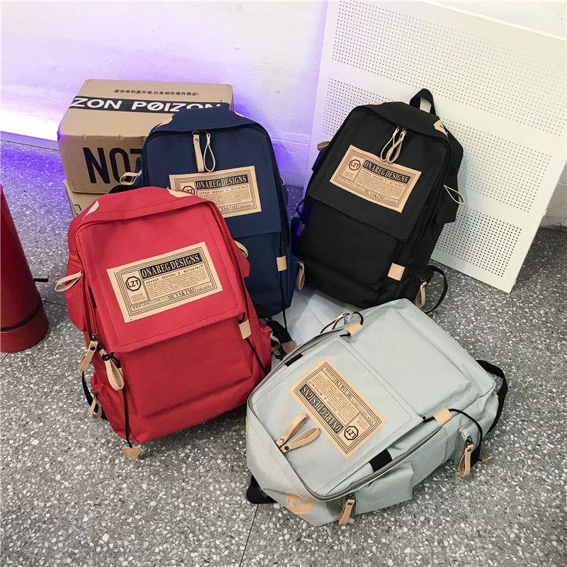 2020 unisex sırt çantası, okul
