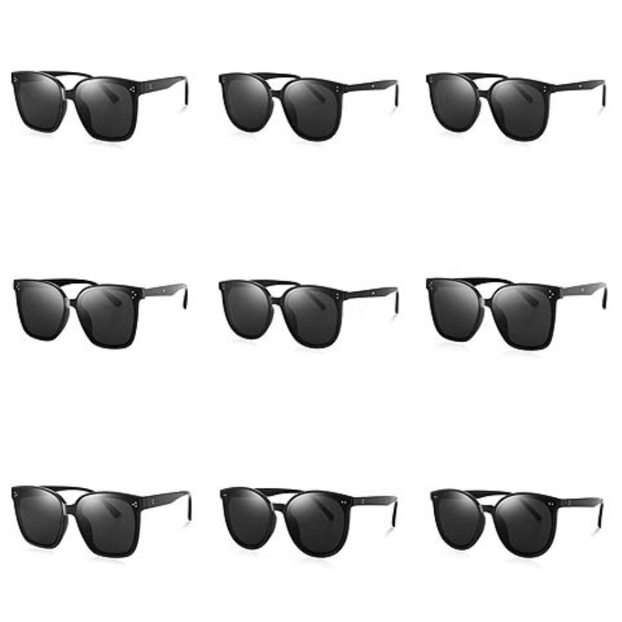 ALOZ Micc inspiración retro gafas de sol de gran tamaño de las mujeres Escudo de metal Medio capítulo montura de las gafas A030 # 947