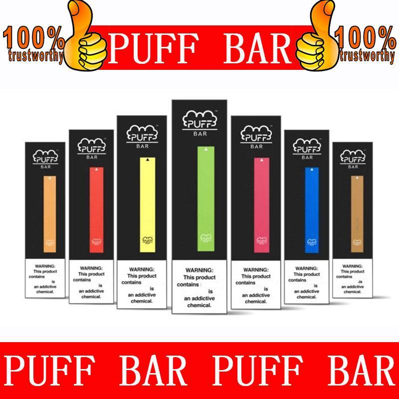 Puff Bar monouso Vape Pen Pod Corredo locale Portable Vape Starter Kit 1.3ml Pod cartucce 280mAh Batteria Puff Bars 300puffs