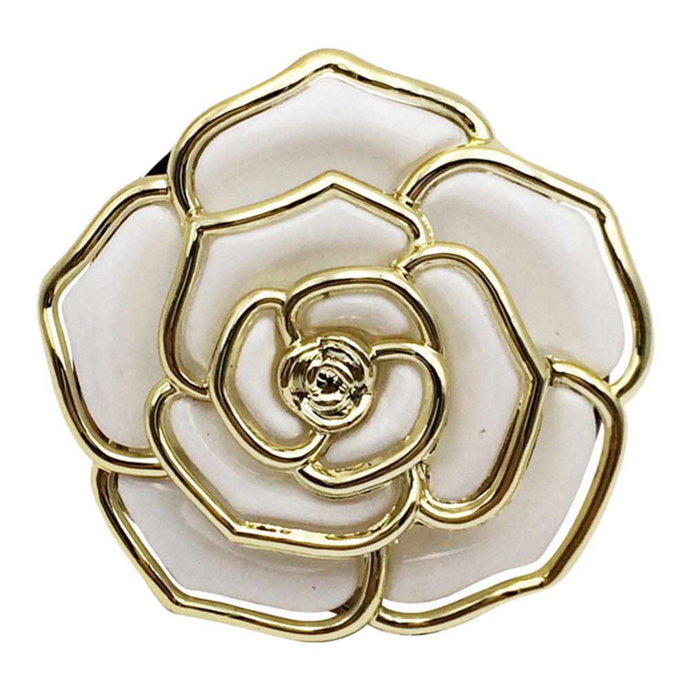 Антипробуксовочная Rose Shaped кафе сумки крюк металл Портативный складной держатель сумка кошелек