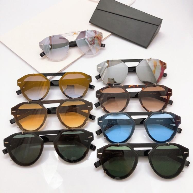 Nouvelle qualité supérieure du soleil des hommes de 254 hommes lunettes style de mode féminine protège les yeux Lunettes de soleil lunettes de soleil avec la boîte