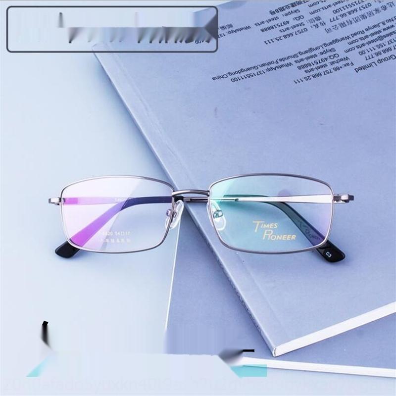 ACbTS Fashion Business Freizeit der neuen Männer-Titan-Legierung Metall Vollformat optische Brille Brillengestell 8820