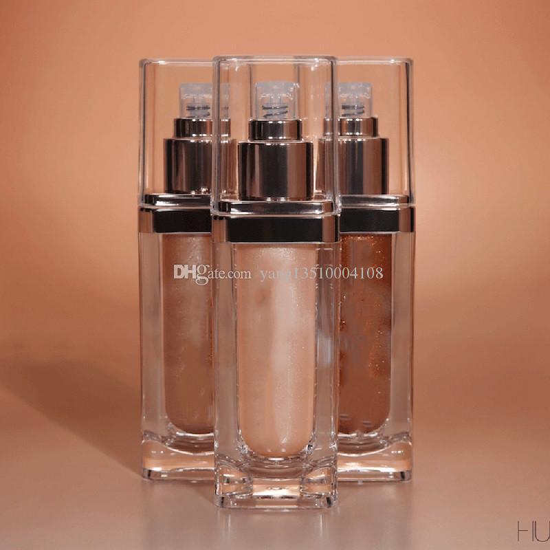 العلامة التجارية الجديدة Maquiagem جميع أنحاء الوجه والجسم تمييز يضيء Bronzers فسفورية الشحن المجاني