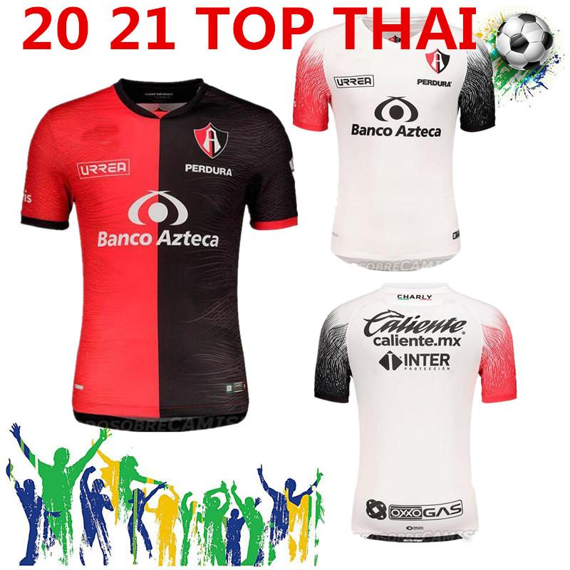 Liga MX 2020 2021 Atlas FC Soccer Jerseys Home 20 21 L.Reyes I.Jeraldino Acosta I. Renato 10 Acosta Camisas de futebol Tailândia Maillots