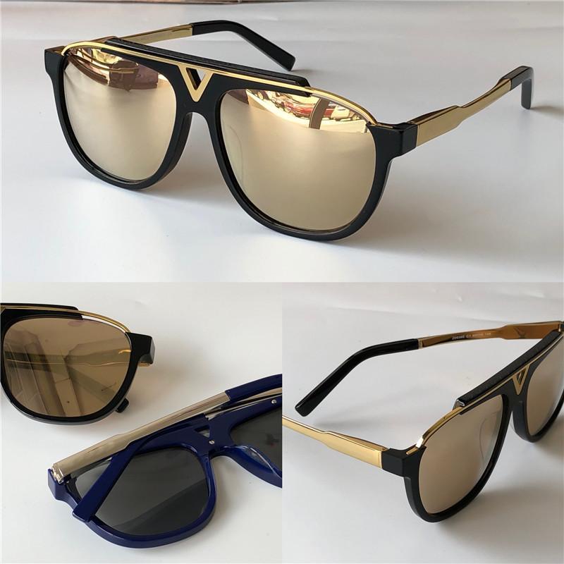 Klasik erkek güneş gözlüğü, sade ve zarif bir retro tasarım moda açık UV400 koruyucu gözlük ibadet gözlük 0936 plakalı kare kare