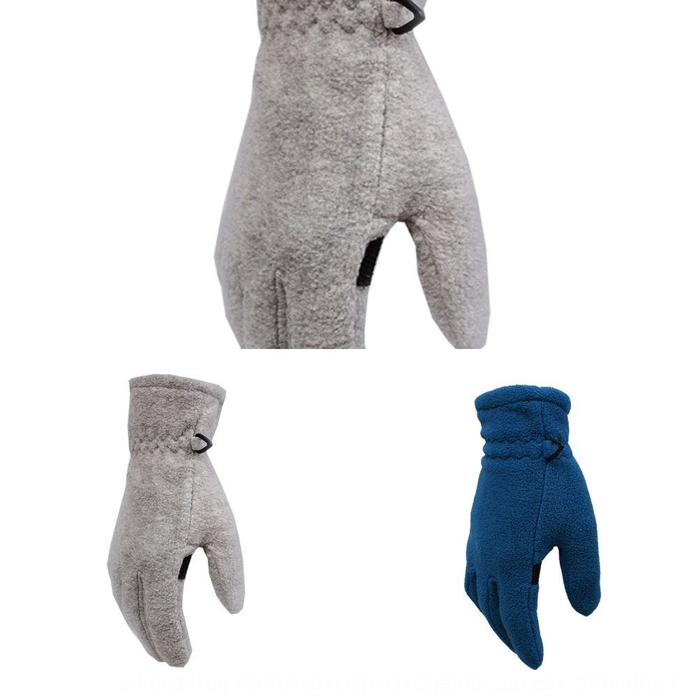 Wendeno primavera y otoño y los guantes masculinos Autobots femeninos de lana polar guantes al aire libre