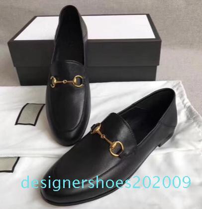 Tasarımcı Ayakkabılar loafer'lar moda lüks erkek ayakkabı hakiki deri Düz metal düğme Bezelye ayakkabı klasik gündelik elbise Kanye platformu D09