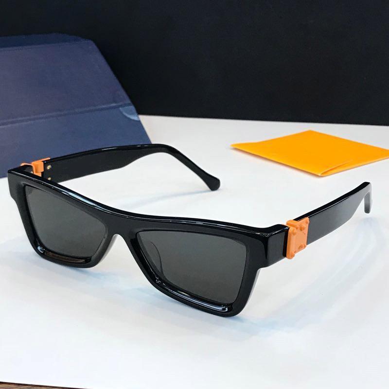 2020 Горячие продажи Роскошная MILLIONAIRE Новые мужские солнцезащитные очки Малый кадров Vintage солнцезащитные очки Shiny Золотой логотип UV400 Верхнее качество Eyewear