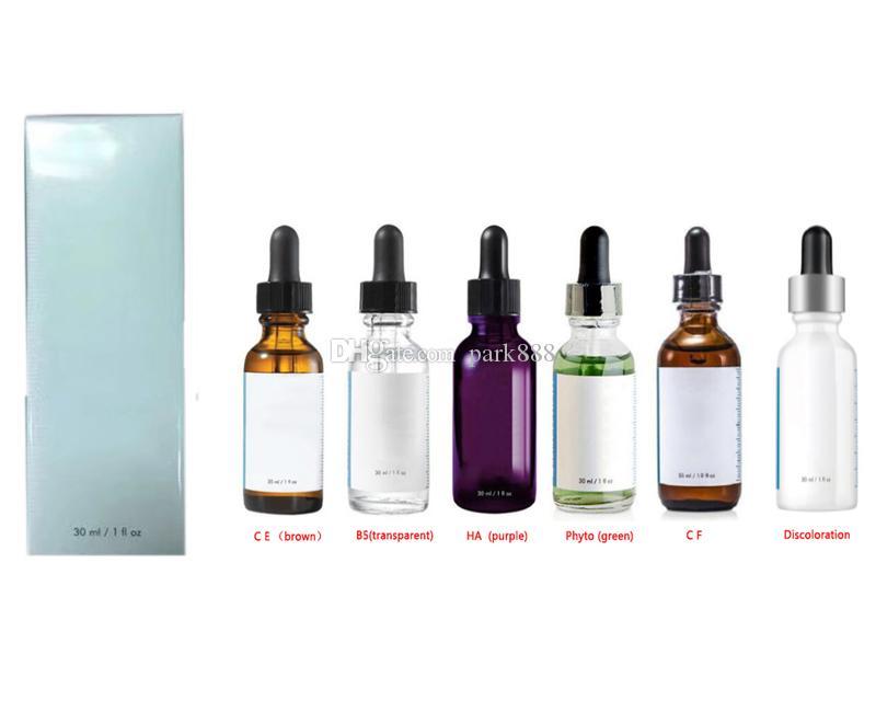 Der heiße Verkauf Serum Hautpflege Phyto Corrective Feuchtigkeitsspend Befeuchten Lila Braun, Grün, Weiß Flasche Lotion Serum 30ml DHL-freies Verschiffen