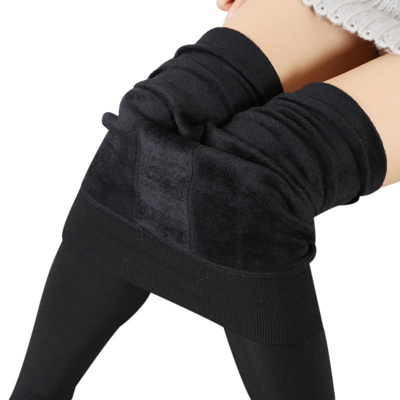 Winter Legging Fitness Frauen starke warme Fleece-Futter Thermal Stretchy Hosen-Mädchen-Dame reizvolle dünne Bequeme Yoga Pants # LR5