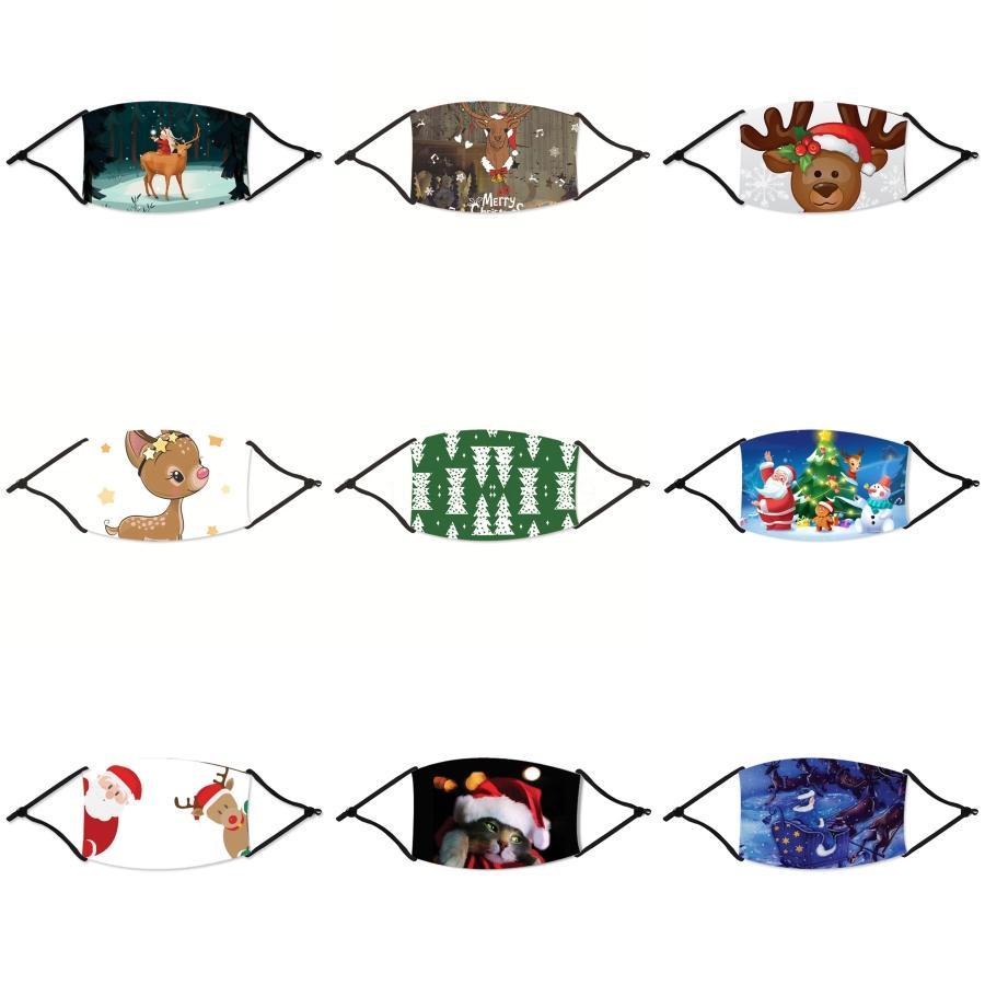 Bequeme Staubmasken Mascherine Earmuff Color Mix Anti Spritzwasser schützen Earmuff Bürger Gesicht Mund-Maske 2 5Ds E1 # 62111