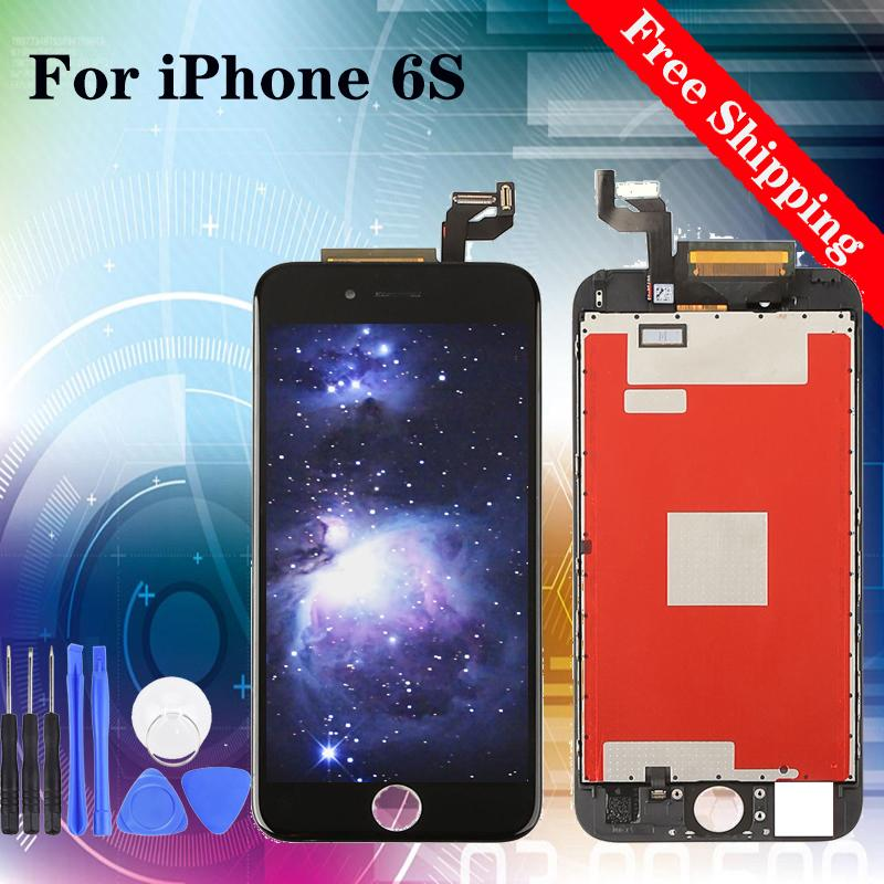 """Hot Selling!Factory!Best Price!Repair for Replacing LCD Screen 4.7"""" for iPhone 6S White Black 100% tested"""
