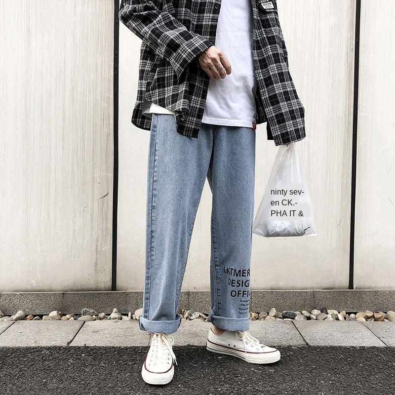 Moda kalça erkek erkek moda ve kot BF marka hop gevşek Kore tarzı gündelik mektup baskılı kot tY349 ins