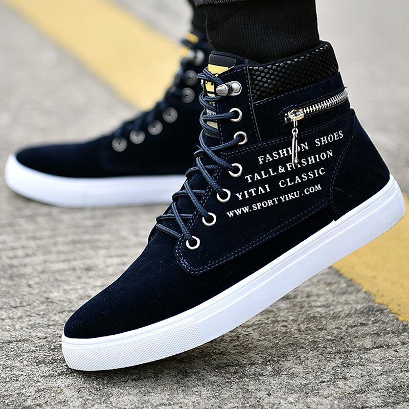 ankle boots homens quentes botas de neve de inverno homens Lace-up sapatos 2020 nova chegada de moda tamanho inverno rebanho de pelúcia rty67