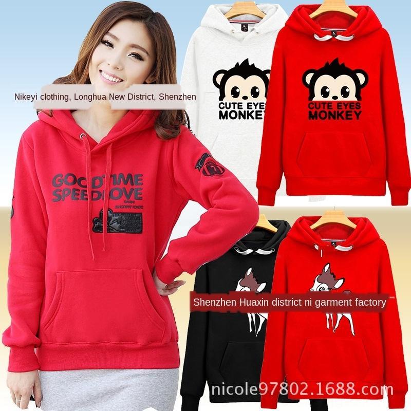 EgN0Q пуловер Топ осенне-зимний свитер свитер женщин новый корейский женщин типа флиса с длинным рукавом стойло