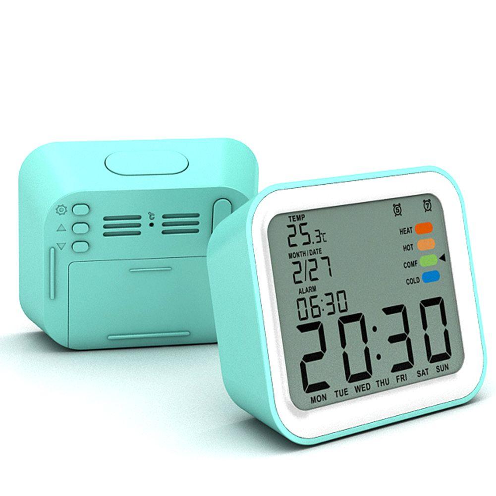 Snooze Fonction réveil ABS bureau Étudiant affichage numérique sommeil écologique