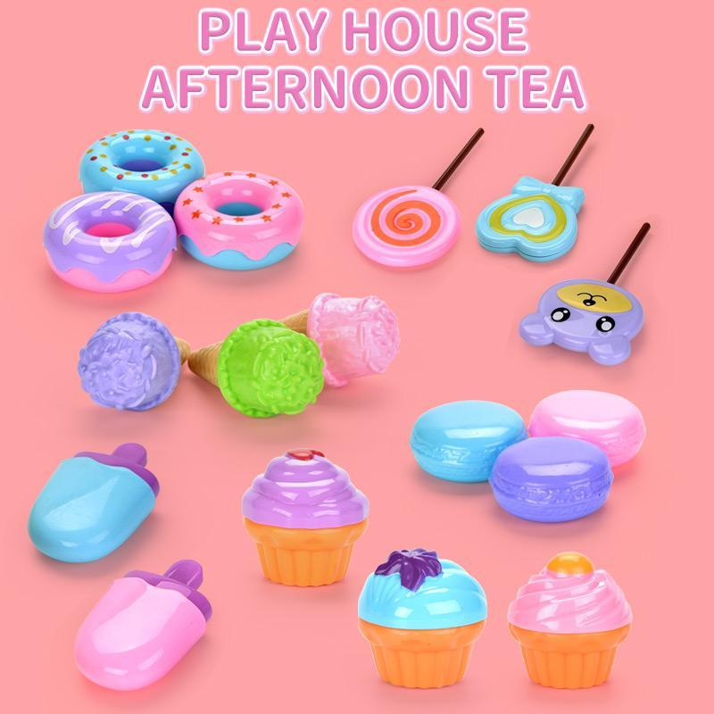 Kid чаепитие Играть дома игрушки Моделирование десерт игрушка Симпатичные Мороженое Cupcake игрушки Kid Девочка подарков