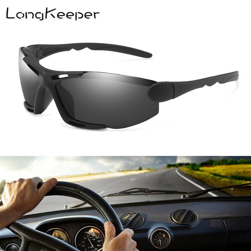 Longkeeper randlose sonnenbrille für männer sonne heiße rahmenlose quadratische frauen ultralight gafas polarisierte treibgläser goggles jkptv
