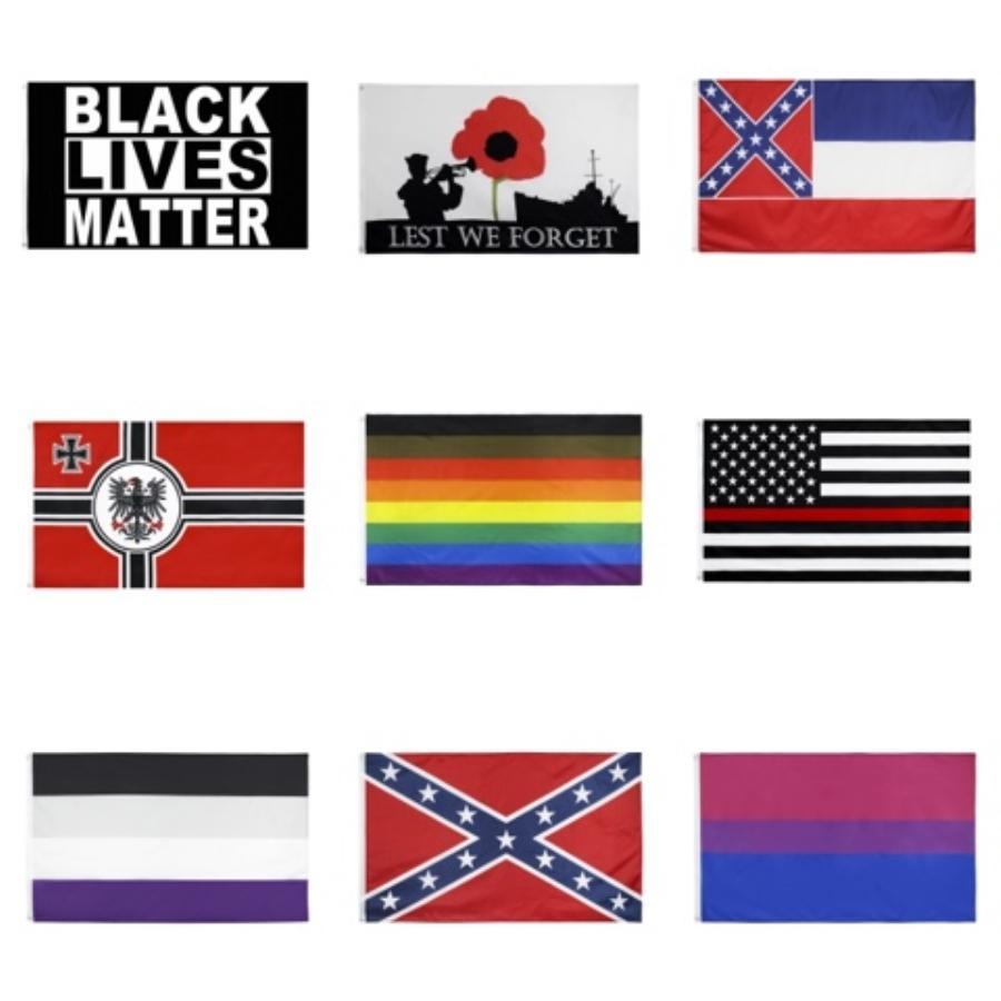 Freier Verschiffen-Groß Fabrik-Preis 100% Polyester 90 * 150cm 3X5 Fts Gadsden-Gelb-Schlange Trump Flag für die Dekoration # 922